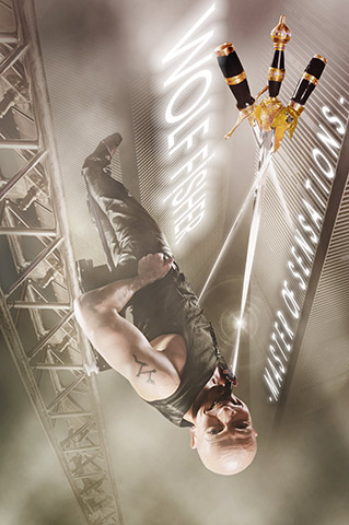 Wolf Fisher: spectacular ORIGINAL LOOPING BALANCE ACT – photo: www.imagicians.de